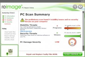 Reimage PC Repair License Key + Crack Updated 2019